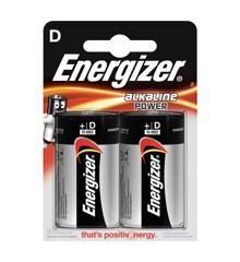Energizer - Batteri D/LR20 Alkaline Power 2-Pak