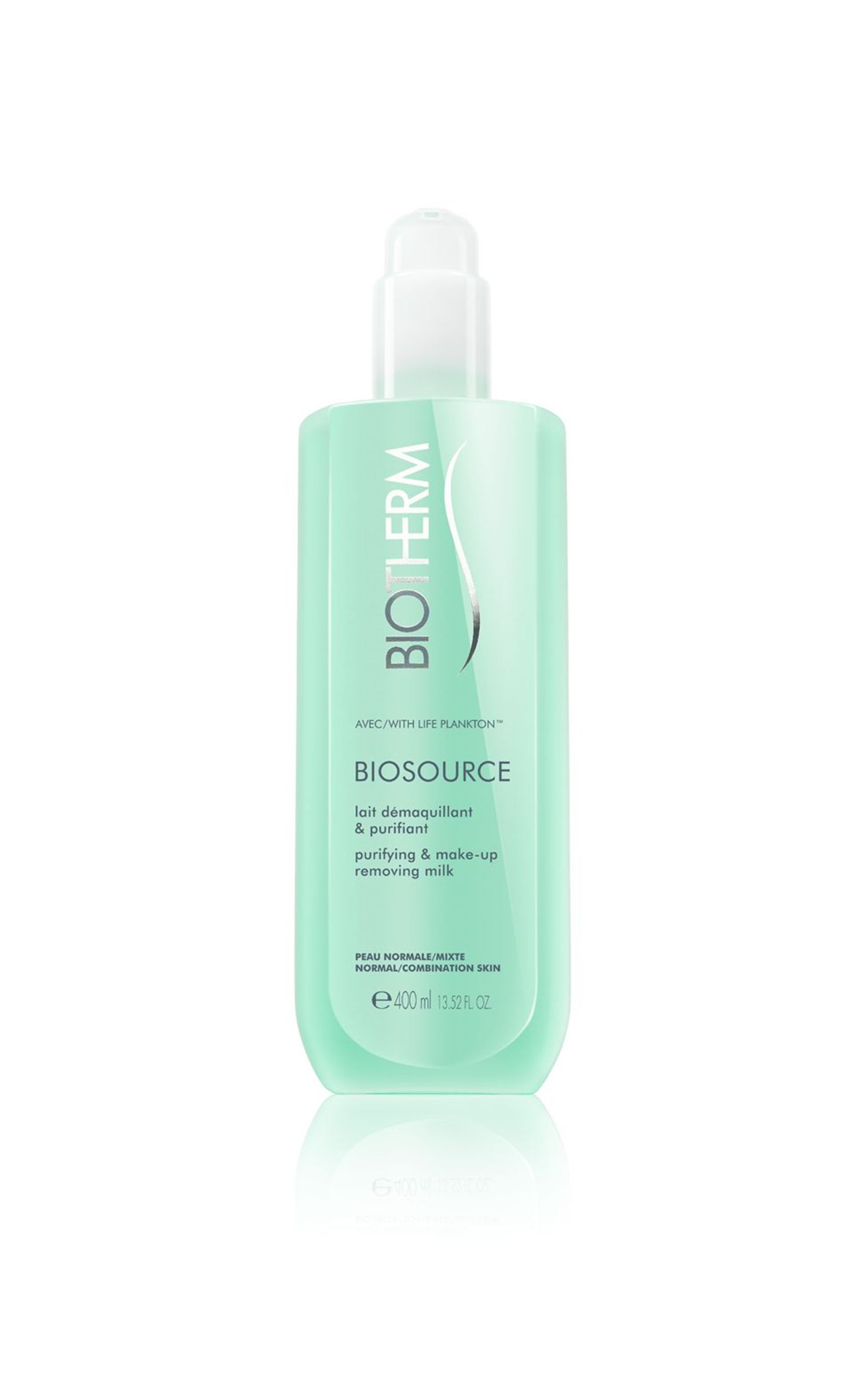 Biotherm - Biosource Cleansing Milk 400 ml