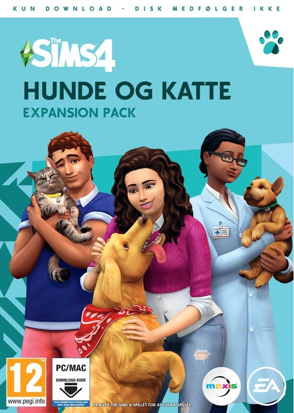 The Sims 4: Cats and Dogs (DK) (PC/MAC)