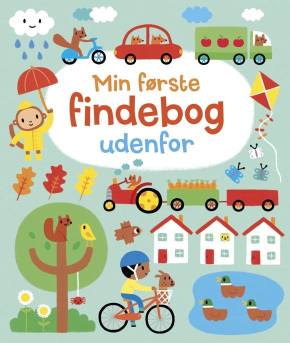 Børnebog - Min første findebog udenfor