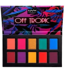 NYX Professional Makeup - Off Tropic Shadow Palette - 01 Hasta La Vista
