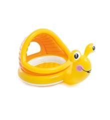 INTEX - Sød Snegl Baby Pool med skygge (657124)