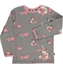 Småfolk - T-shirt w. Rabbit Print