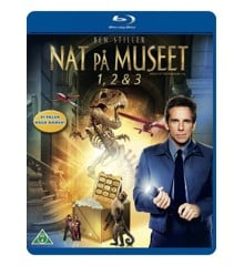 Nat på museet 1-3/Night at the Museum 1-3 (3 disc)(Blu-Ray)