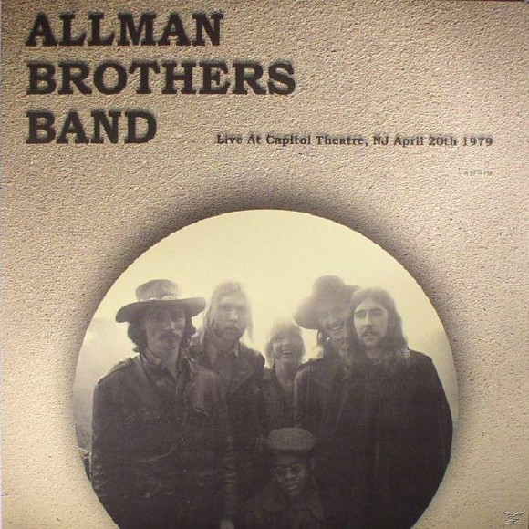 The Allman Brothers Band Live At Capitol Theatre Nj April 20th 1979 - Vinyl