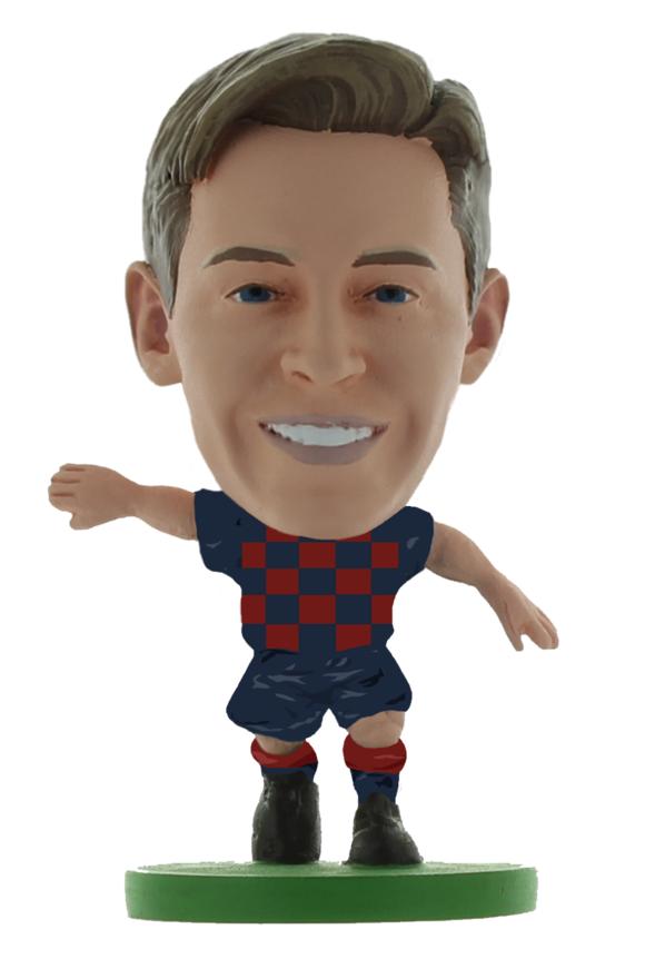 Soccerstarz - Barcelona Frenkie De Jong - Home Kit (2020 version)
