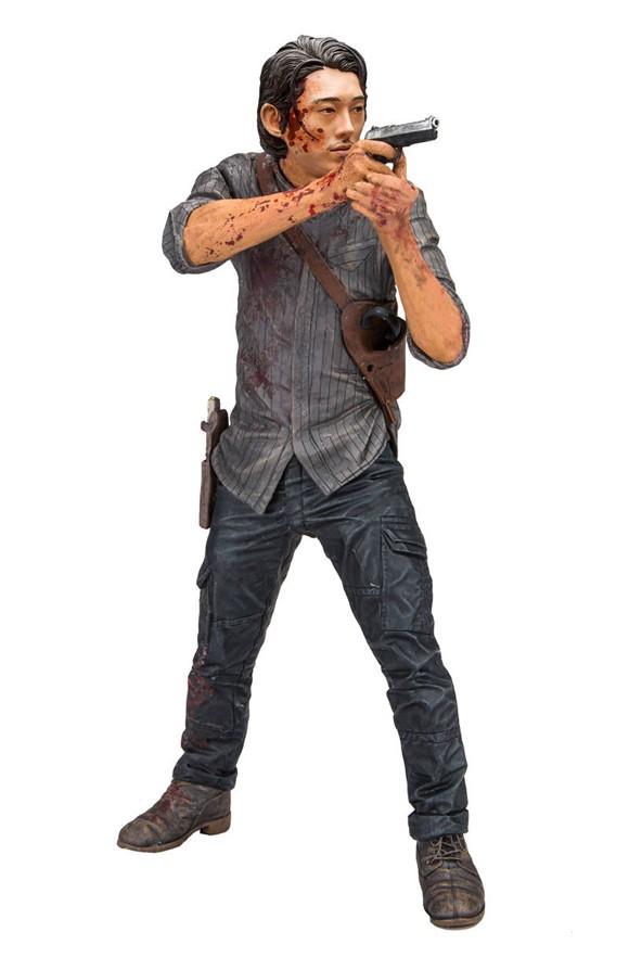 Walking Dead Tv Glenn Legacy Ed 10In Dlx Af Cs