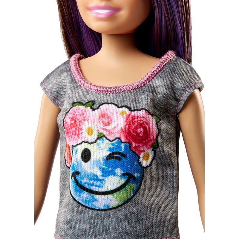 Buy Barbie - Skipper Babysitters Doll and Playset - Purple ...