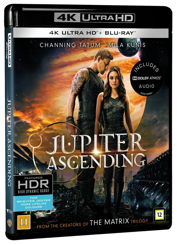 Jupiter Ascending (4K Blu-Ray)