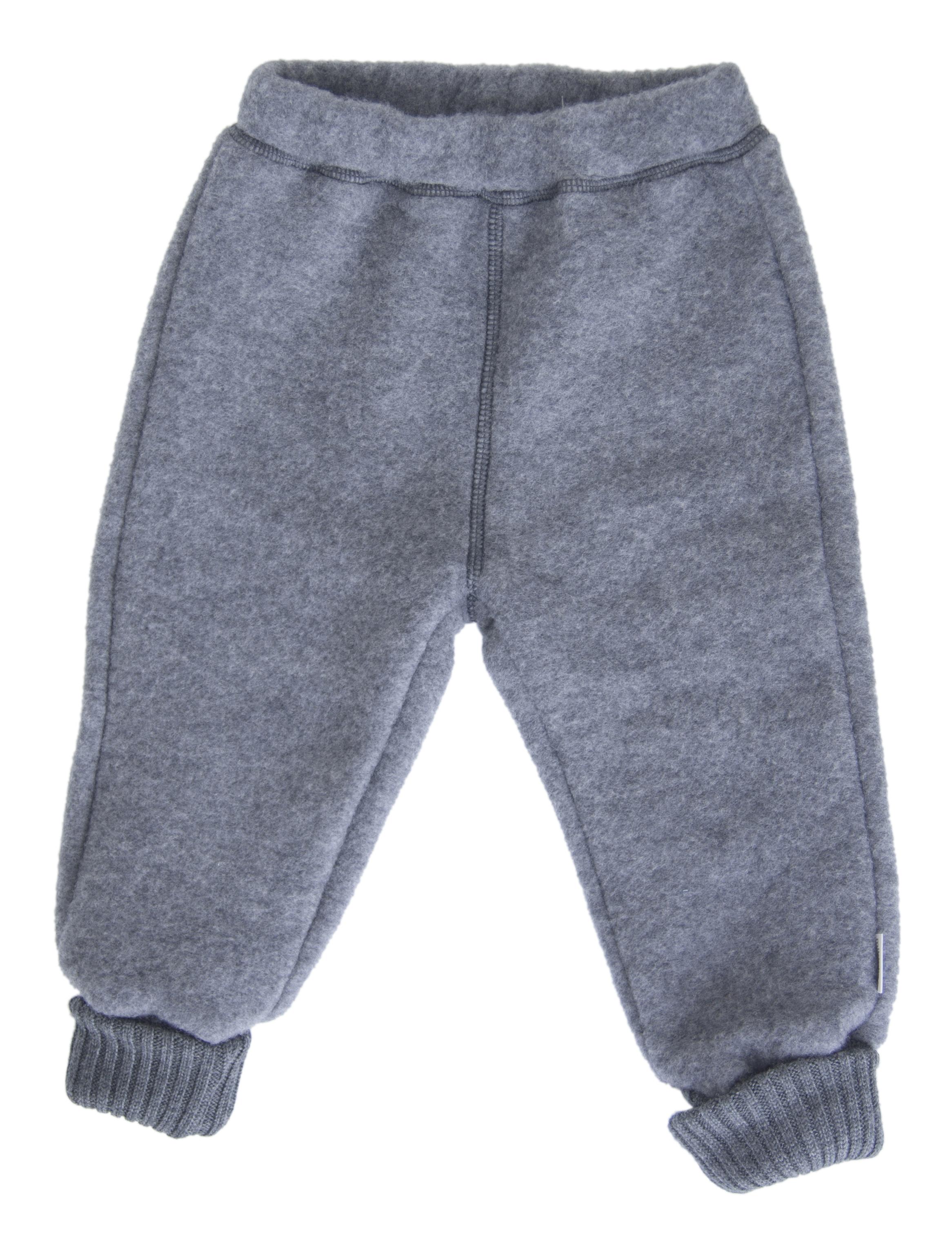 Køb Mikk line Uld Bukser Melange Grey 56