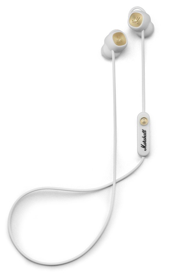Marshall - Minor II BT Wireless In-Ear Headphones White