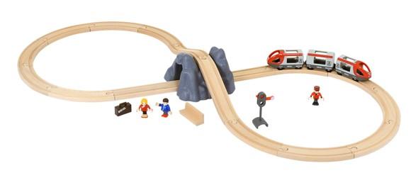 BRIO - Togbane, Startsæt med tog-tilbehør (33773)