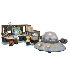 Rick & Morty - Large Contruction Set - Spaceship and Garage (MCF12884-0)