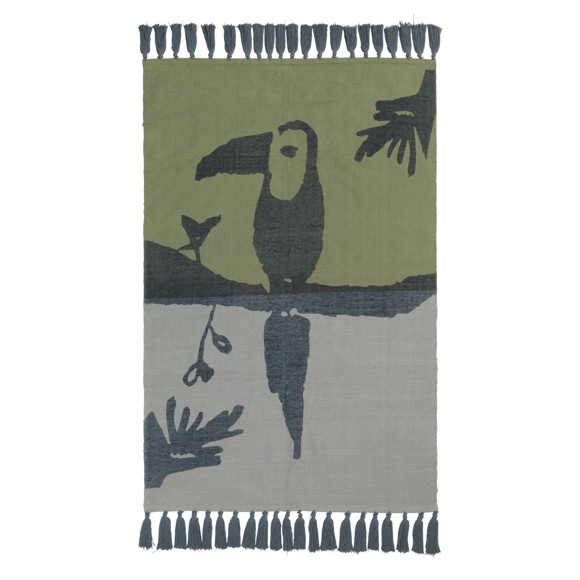 Nofred - Toucan Rug - Petroleum