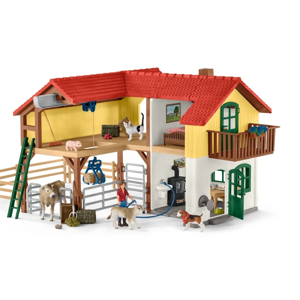 Schleich - Large Farm House (42407)