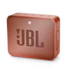 JBL - GO 2 Portable Bluetooth Speaker Sunkissed Cinnamon