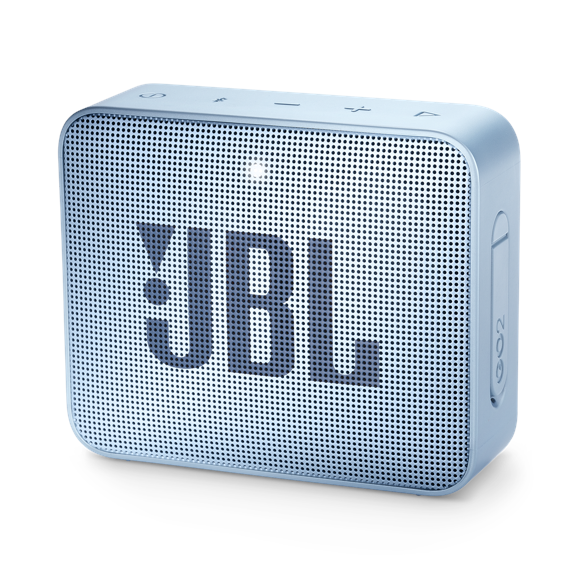 JBL - GO 2 Portable Bluetooth Speaker Icecube Cyan - E