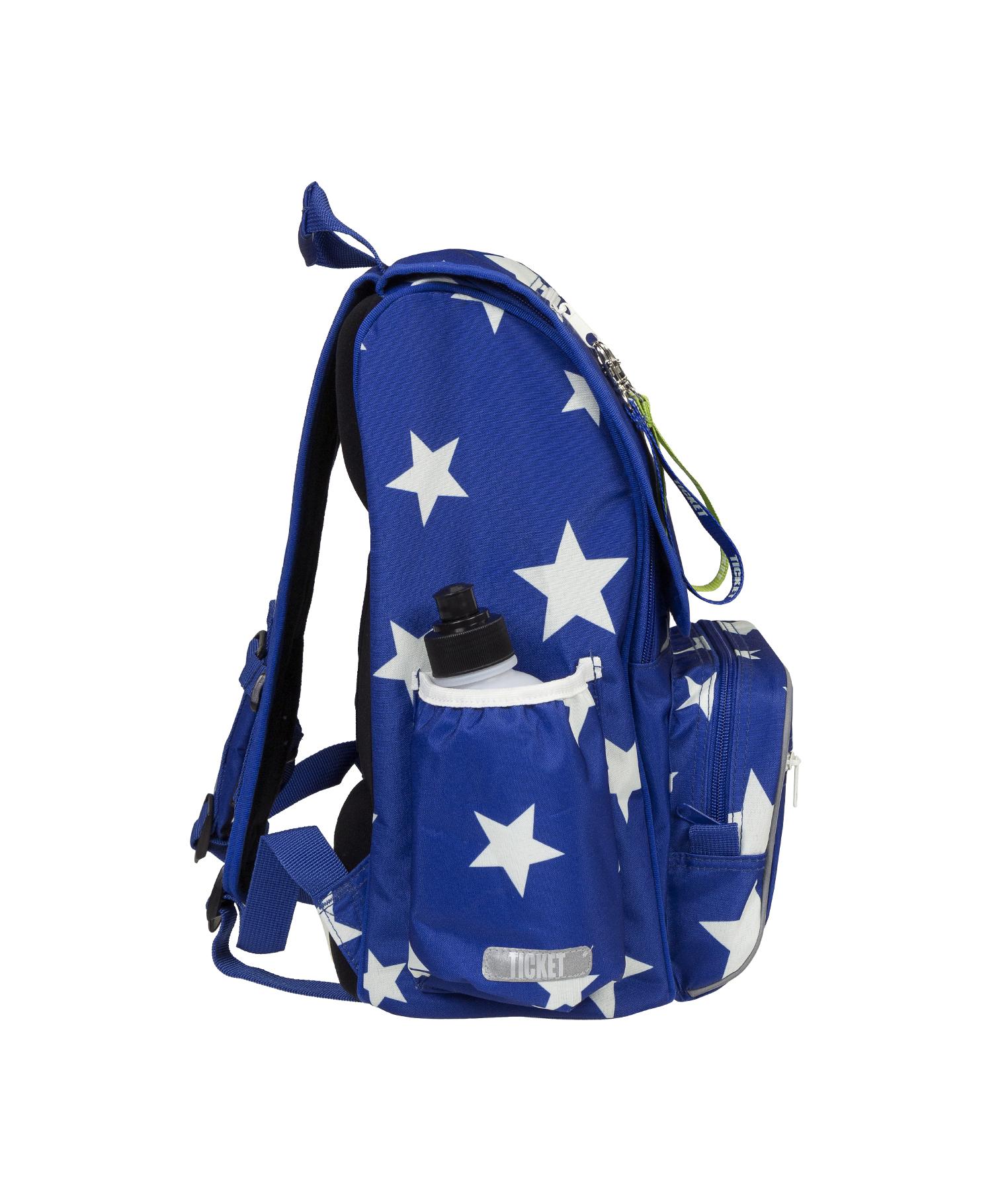 Køb Ticket to Heaven Junior Skoletaske, 8 11 år Blue stars