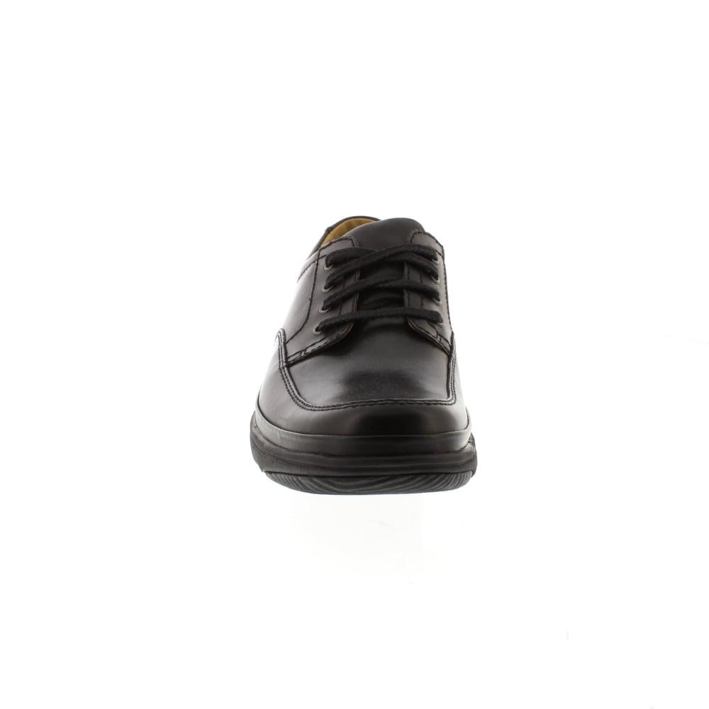 Buy Clarks Swift Mile - Black Leather