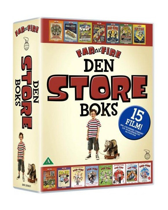 Far Til Fire - Den Store Boks (15 disc) - DVD