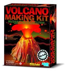 4M Kidzlab - Vulkan samlesæt