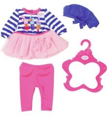 Baby Born - Dukketøj, Pink og blå striber