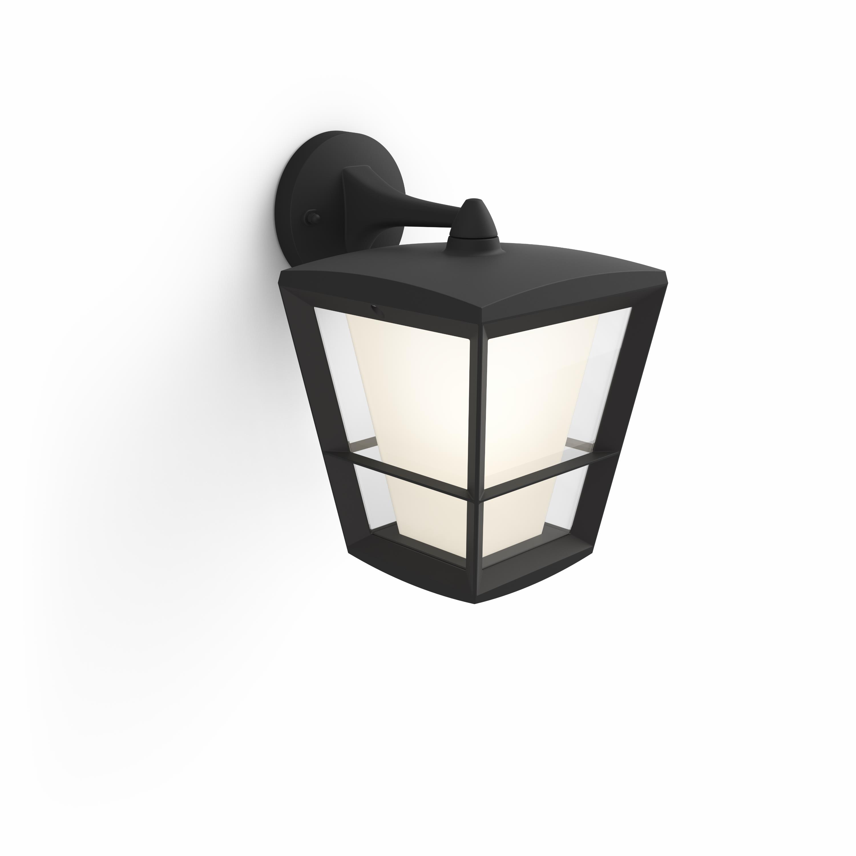 Philips Hue - Econic Down Outdoor Wandlaterne - Weiß & Farbe Ambiance