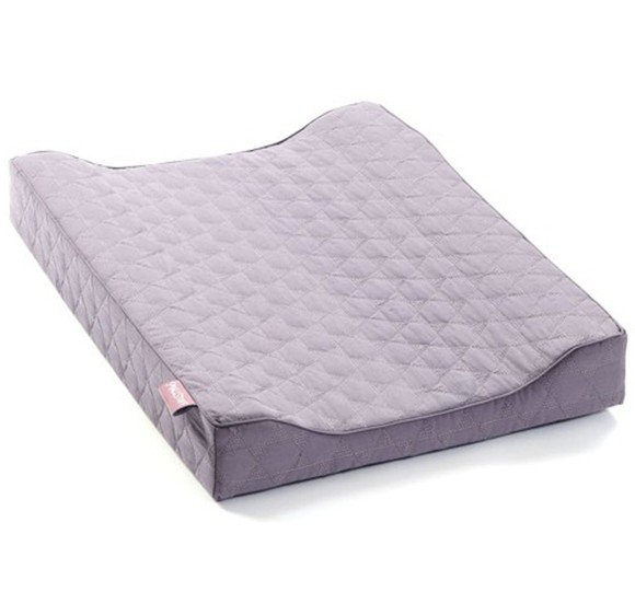 Smallstuff - Quilted Changing Pad - Blue Rose