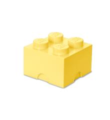 Room Copenhagen - LEGO Opbevaringskasse Brick 4 - Cool Gul