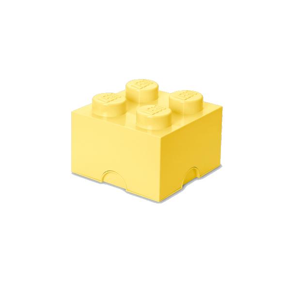 Room Copenhagen - LEGO Storeage Brick 4 - Cool Yellow (40031741)