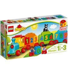 LEGO DUPLO - Tog med tal (10847)