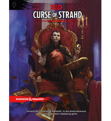 Dungeons & Dragons - Role Play - 5th Edition Curse of Strahd (D&D) (Engelsk)