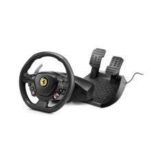 Thrustmaster T80 Ferrari 488 GTB Edition Racing Wheel and Pedal Set