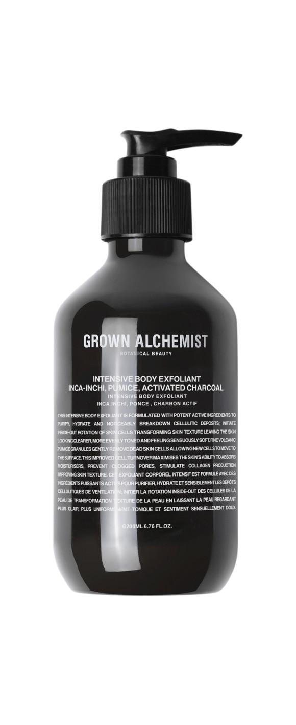 Grown Alchemist - Intensive Body Exfoliant Inca-Inchi, Pumice, Activated Charcoal 200 ml