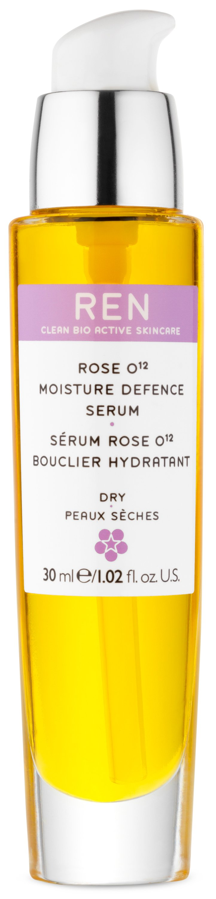 REN - Dry Skin Rose O12 Moisture Defence Oil 30 ml