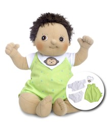 Rubens Barn - Rubens Baby Doll with diaper - Max (120093)