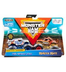 Monster Jam 1:64 2 Pack - Ice Cream Man & Monster Mutt (20105524)