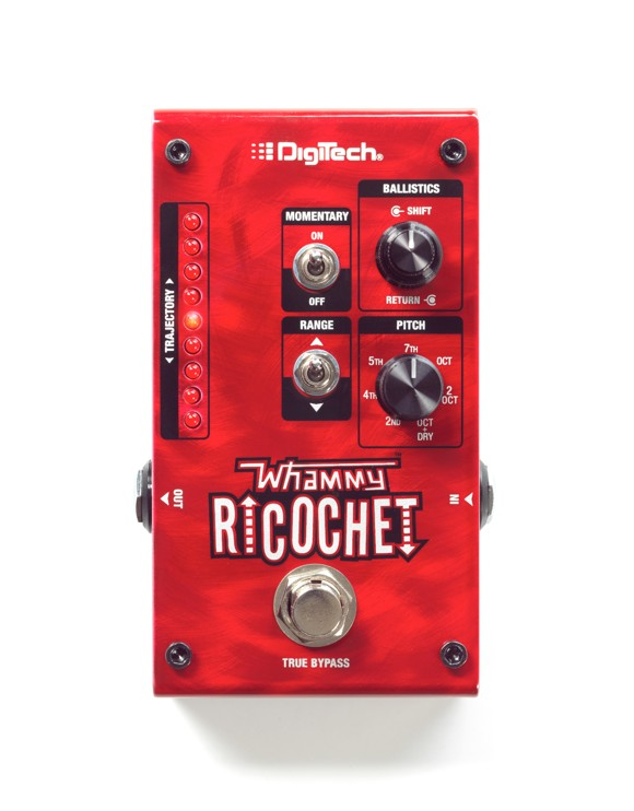 Digitech - Whammy Ricocchet Pitch Shifter - Guitar Effect Pedal
