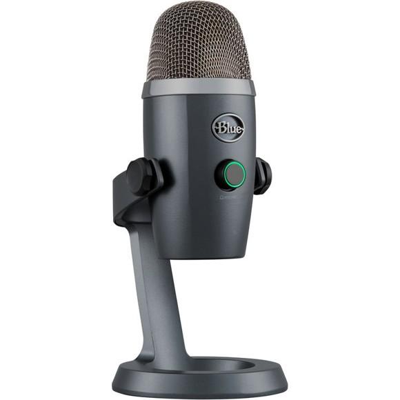 Blue - Microphone Yeti Nano Shadow Grey