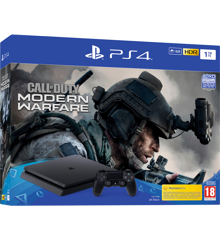 Playstation 4 Slim 1TB (Call of Duty: Modern Warfare Bundle) (Nordic box)