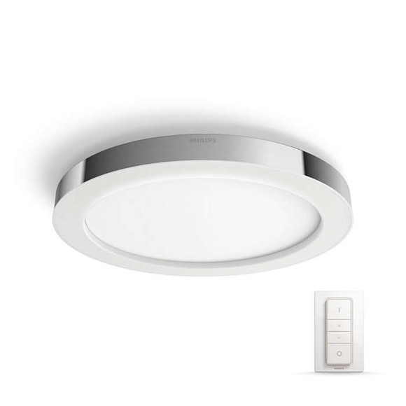 Philips Hue -  Adore Bathroom Ceiling Light - White Ambiance