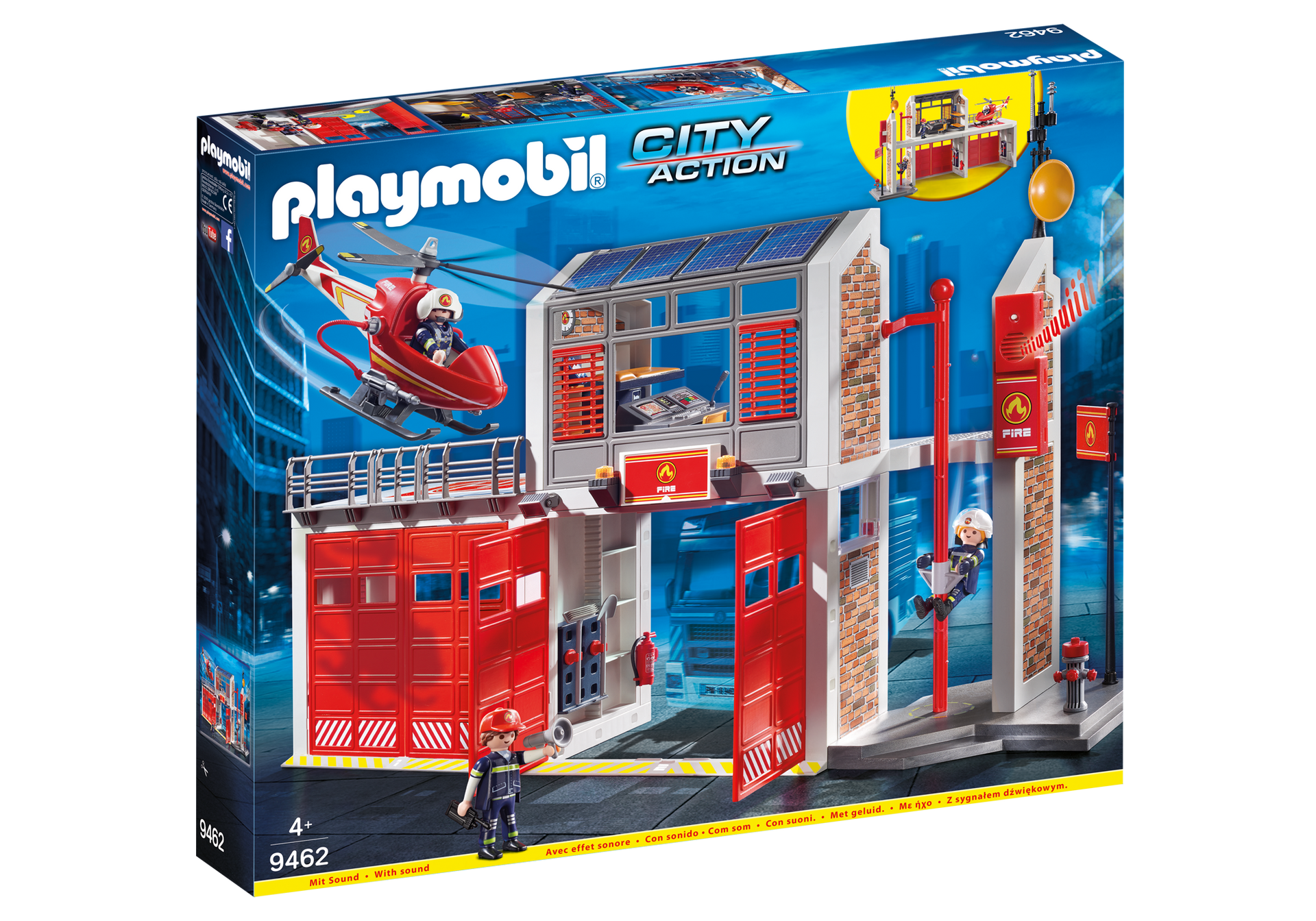 Playmobil - Fire Station (9462)