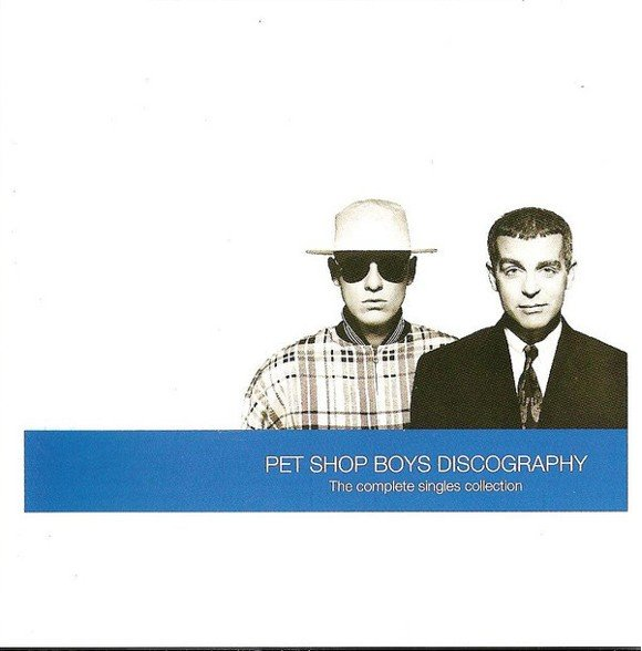Pet Shop Boys ‎– Discography (The Complete Singles Collection) - CD