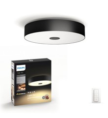 Philips Hue - Fair Ceiling Light Black - White Ambiance