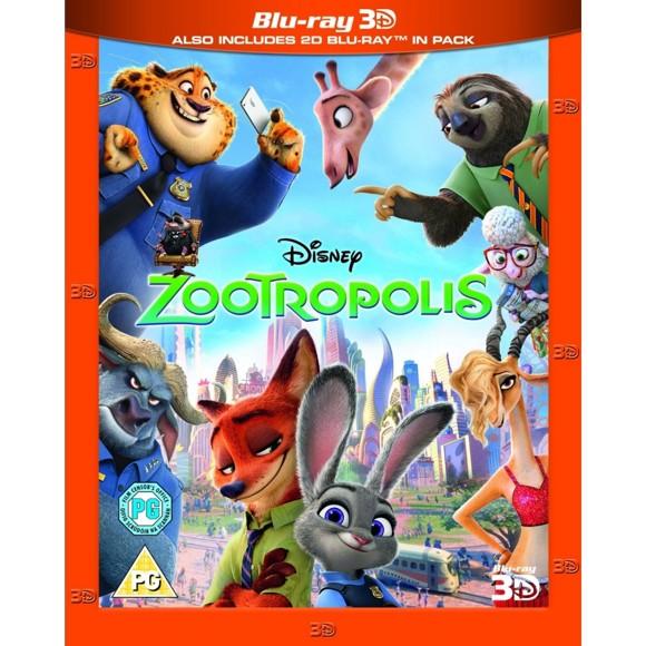 Zootropolis Blu-ray 3D