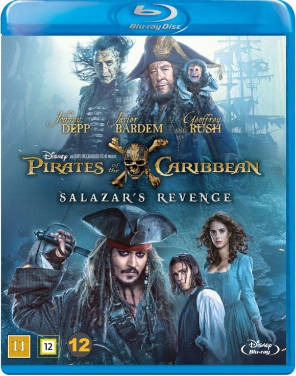 Pirates of the Caribbean: Salazar's Revenge (Blu-Ray)