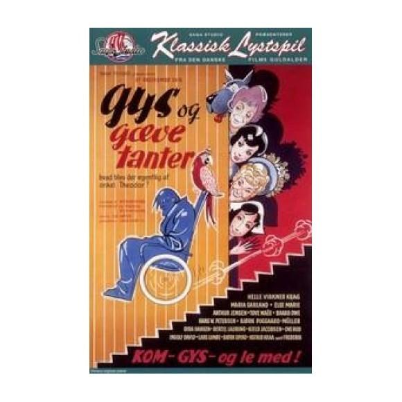 Gys og gæve tanter - DVD
