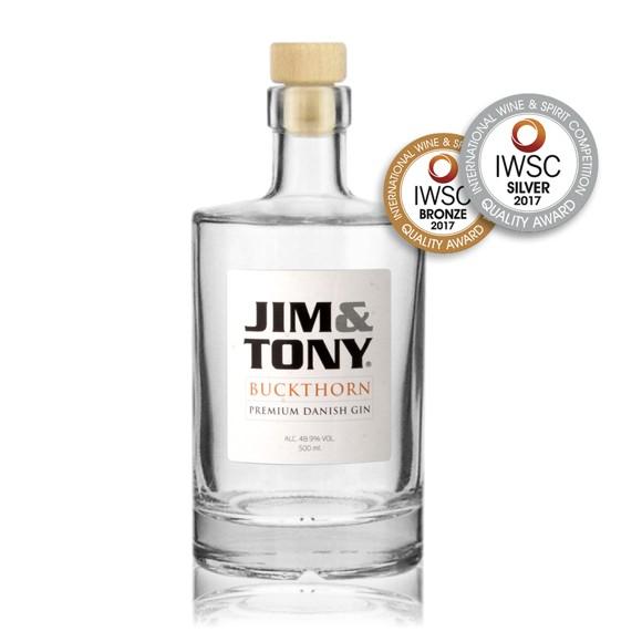 Egoista -Jim&Tony Premium Dansk Gin 500 ml