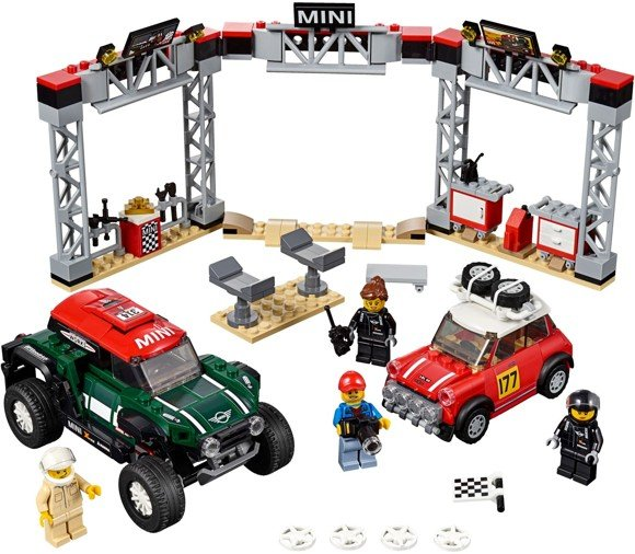 LEGO Speed Champions - 1967 Mini Cooper S Rally and 2018 MINI John Cooper Works Buggy (75894)