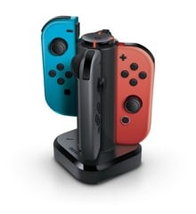 Bionik Tetra Power Quad Port Joy-Con Charging Dock (Nintendo Switch)